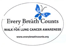 Every Breath Counts Magnet